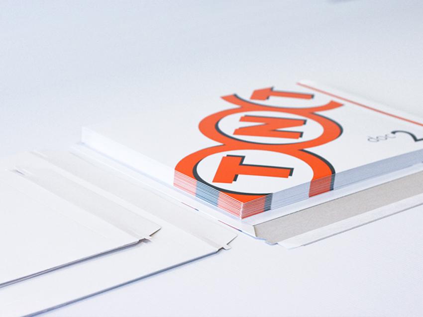 impression pochette TNT FEDEX DHL Pochette cartonnée